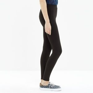 Madewell Women's Black Pieced Ponte Leggings 6